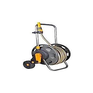 Hozelock 2434R0000 Dévidoir chariot assemblé avec tuyau de 30 m de 12.5 mm
