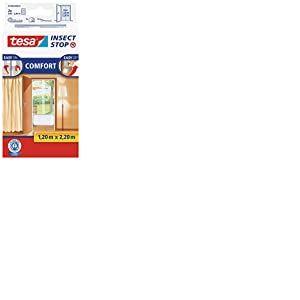 tesa Comfort / 55389-00020-00 Moustiquaire pour porte Blanc (Import Allemagne)