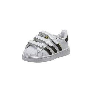 adidas Superstar CF C, Basket Mixte Enfant, FTWR White/Core Black/FTWR White, 33 EU
