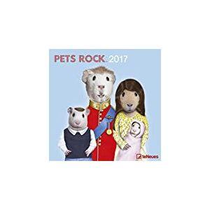 Teneues Pets Rock Calendrier 30 x 30 cm Blanc