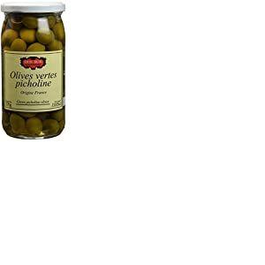 ERIC BUR Olives Vertes Picholines 370 g