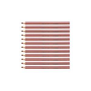 Stabilo Trio Crayon de couleur triangulaire Rouge Lot de 12