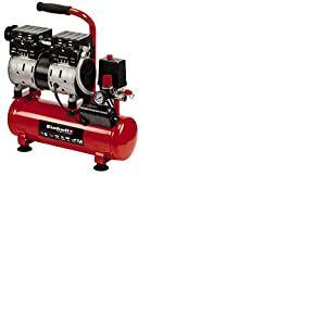 Einhell 4020600 TE-AC 6 Compresseur silencieux Rouge/noir