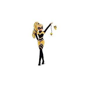 Bandai- Miraculous Ladybug-Poupée Mannequin 26 cm-Queen Bee, P50003