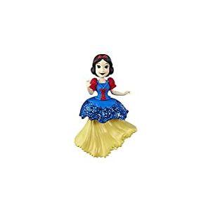 Disney Princesses - Poupee Princesse Disney Mini Poupee Royal Clips Blanche Neige - 8 cm