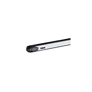 Thule 892000 Barres de Toit SlideBar 892 à coulissement bidirectionnel en Aluminium-Argenté, Gris, Longueur 144 cm