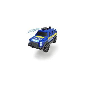 Dickie Toys 203713009 Special Forces, unité spéciale, SUV, Camion, Voiture de Police, avec Fonctions, unité spéciale, 1:32, Bleu/Jaune/Gris