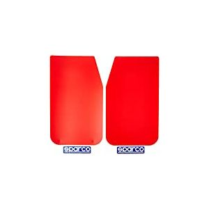 Sparco 03791RS Bavettes Garde-Boue Universel, Rouge,