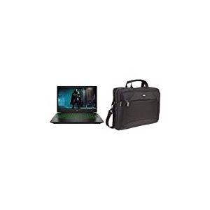 HP Pavilion 15-cx0031nf PC Portable Gamer 15'' FHD Noir (i5, 8 Go de RAM, Disque Dur 1 to + SSD 128 Go) & AmazonBasics Sacoche pour Tablette et Ordinateur Portable 15,6