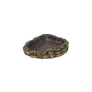 Trixie Reptile Décoration de forêt tropicale d'eau et de nourriture Bol, 24x 5.5x 20cm