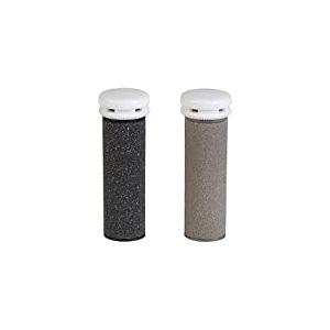 Silk'n Rouleaux de remplacement pour Micro Pedi Wet & Dry, Recharges pour Râpe électrique anti-callosités pour pieds secs et mouillés, moyens et gros grains