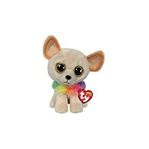 Ty - Beanie Boo's - Peluche Chewey le Chien Chihuahua, TY36460, Multicolore, 23 cm