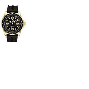 Scuderia Ferrari Mixte Analogique Quartz Montres bracelet avec bracelet en Silicone - 830485