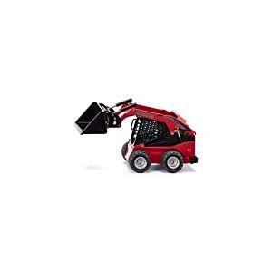 SIKU- Manitou 3300V Kompaktlader Chargeur, 3049, Rouge