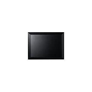Bi-Office Tableau noir classique cadre noir 60x45 cm