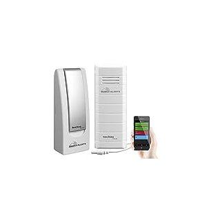 Technoline Alarme, température de l'eau Aquarium/Bassin Surveillance, température, ma10101 Gateway, Blanc, 3.2x 1.7x 8,7cm