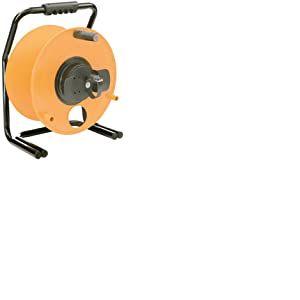 Brennenstuhl 1319000 Enrouleur vide 380mm de diamètre Noir