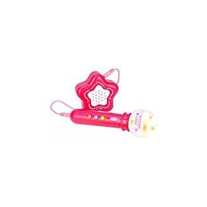 Bontempi- Micro + Amplificateur, 424171, Rose