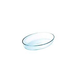Pyrex - Essentials - Plat à Four Ovale en Verre 26x18 cm