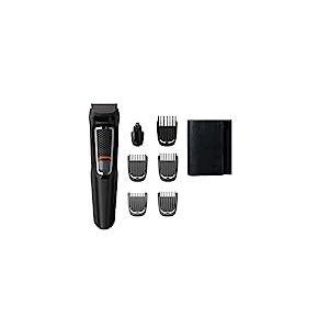 Philips mg3720/15-Tondeuse à barbe et Precision 7en 1, lames autoafilables, avec housse de voyage