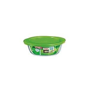 Pyrex Plat Rond 20CM Pyrex 4 en 1 Cook & Store 1L + Couvercle