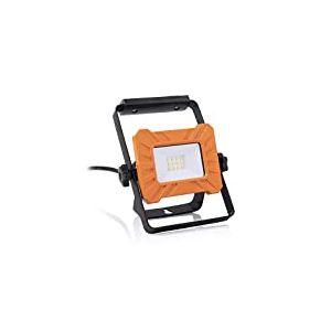 Projecteur de chantier LED Smartwares FCL-76003 monté sur support – 10 watts – 800 lumens, Orange