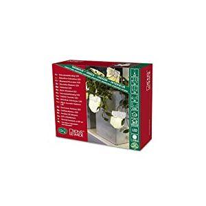 Konstsmide 3194-103 Guirlande d'Eclairage de Déco Hibou en Papier Intérieur 12 LEDs 24 V Blanc Chaud Câble Transparent