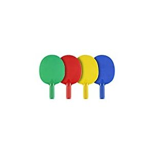 JOOLA MULTICOLOR Raquettes de tennis de table d'extérier - set de 4 raquettes
