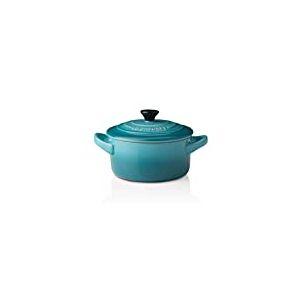 Le Creuset, Mini-Cocotte Ronde, 200 ml, 10 x 5 cm, Céramique, Turquoise