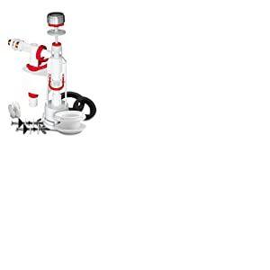 Fominaya TYF14 Mécanisme de chasse d'eau universel avec bouton et robinet latéral Fenyx