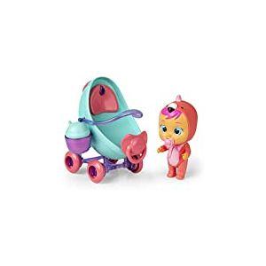 Cry Babies Magic Tears- IMC Toys-La Poussette de Fancy-97957-Cry Babies Magic Tears, 97957, Vert