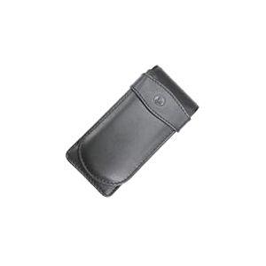 Pelikan 923433 Étui en cuir pour 3 crayons/stylos Noir