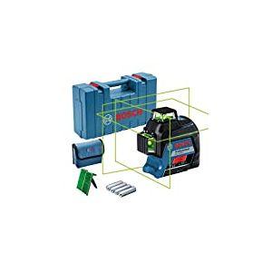 Bosch GLL 3-80G Mises à Niveau horizontales et Verticales simultanées 0601063Y00 Bleu