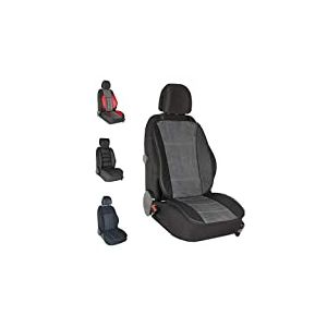 DBS - Couvre Siège - Voiture/Auto - Gris - Grand Confort - Antidérapant - Compatible Airbag - Universel
