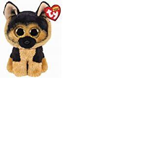 Ty - Beanie Boo's - Peluche Spirit le Chien Berger Allemand, TY36473, Blanc / Beige, 30 cm