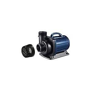 AquaForte DM-20000 Pompe filtrante pour Bassin 20 m3/h Hauteur de refoulement 7 m 200 W DM-10000 18 x 33 x 20 cm Noir