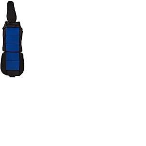 CSC203 - coussin de siège voiture, housse de siège auto Protecteur de siège, coussin cover auto Couvre Siège voiture, Retour Coussin noir/Bleu