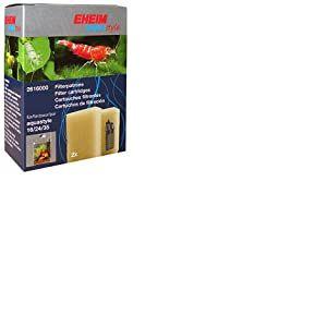 Eheim - 2616000 - Cartouche filtrante - Pour modèles Aquastyle 16, 24, 35 et AquaCorner 60 - Lot de 2