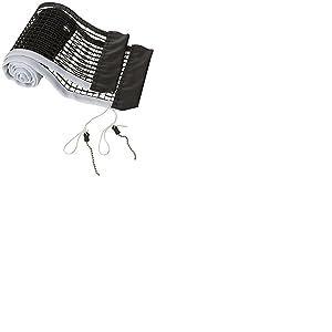 Donic Schildkrot Filet de Tennis de Table en Nylon Noir, 1,8m