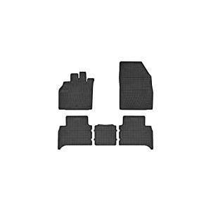 DBS Tapis de Voiture - sur Mesure pour Scenic 3 (2009-2016) - 4 pièces - Tapis de Sol antidérapant pour Automobile - Souple - 100% Caoutchouc