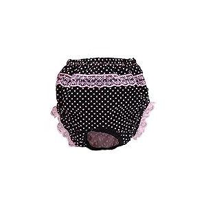 Croci Culotte Hygiénique pour Chien avec Motif Pois L 35/45 cm