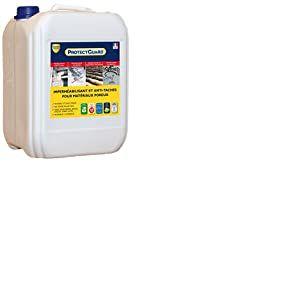 Imperméabilisant Hydrofuge, oléofuge pour matériaux poreux  Guard Industrie PROTECTGUARD 10L