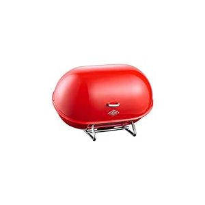 Wesco 222101-02 Single Breadboy Boîte à Pain Sheet Steel Rouge 9 x 12 x 16 cm