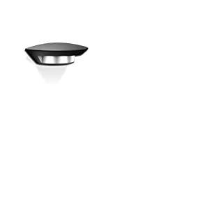 Lutec 563800014 Applique Ghost Ovale Métal Noir 1 L S