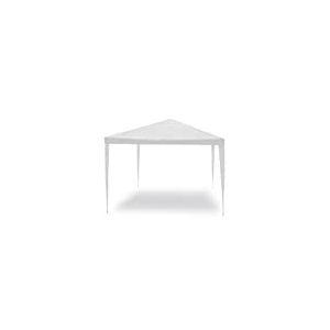 Tonnelle Facile Blanc 3x 4m. Structure en Acier bâche en PE. 110GR/m².