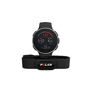 POLAR Vantage V Titan HR Montre Adulte Unisexe, Noir Rouge, Taille unique