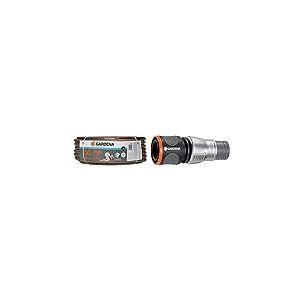 "Tuyau d'Arrosage Comfort Highflex de Gardena 19Mm (3/4""), 50 M: Tuyau à Profil Power-Grip, 30 Bars & Raccord d'Arrosage de Tuyau Premium 19 mm (3/4"") de Gardena: Adaptateur pour Robinets, Emballé"