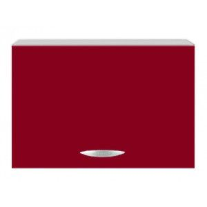 Meuble de cuisine capot sur hotte 1 porte 60 cm OXANE