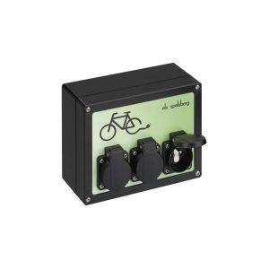 SPELSBERG Borne de recharge pour vélo électrique E-bike - 3x prises 220V 16A - BLS-3-BE/FR