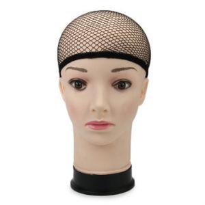 Stretchable Elastic Wig Cap Hairnets Nylon Mesh Liner Weaving Black Hair Nets